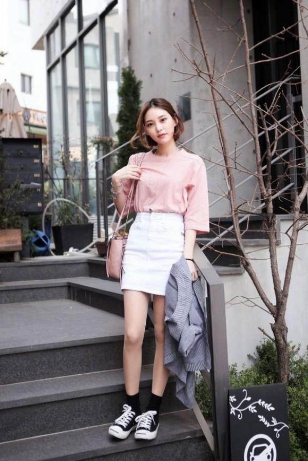40 Exotic Korean Street Fashion Outfit Ideas