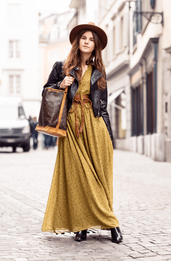 Ways To Wear A Maxi Dress In Winter