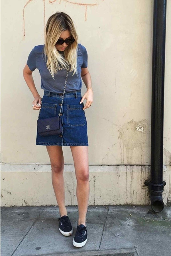 StunningSummerOutfits With Sneakers