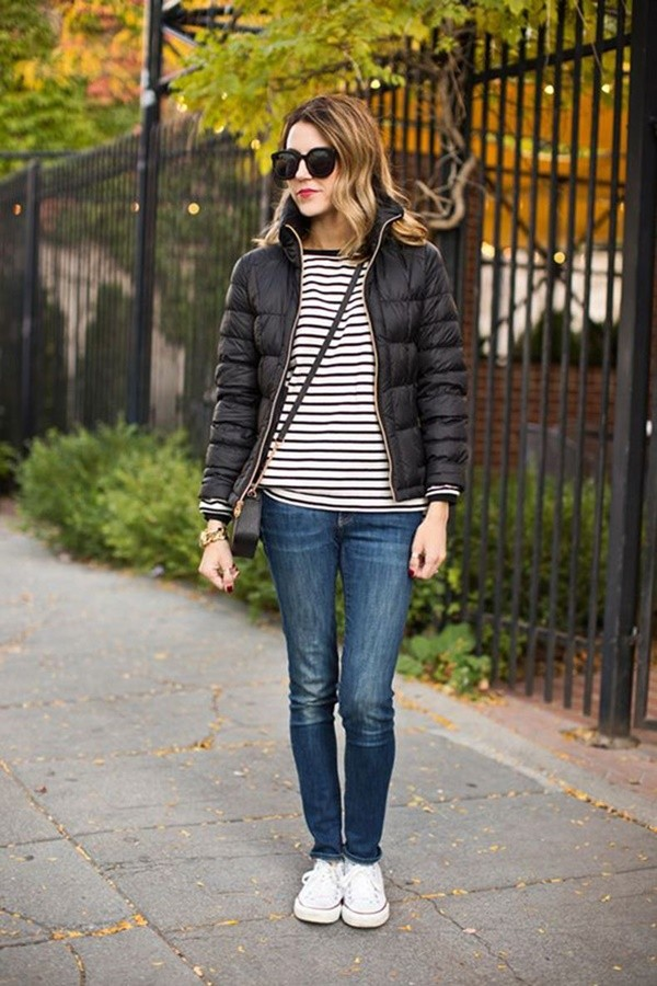Adorable Winter Outfits With Sneaker