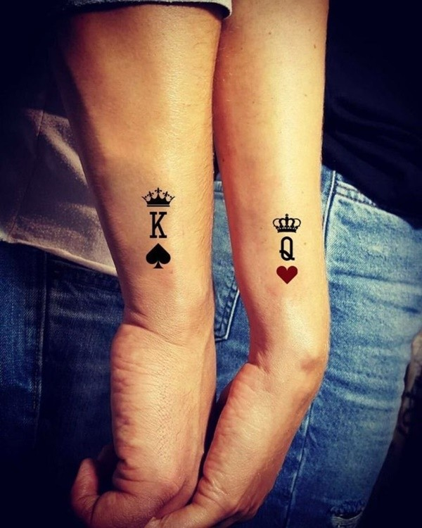 Rare and Matching Couple Tattoo Ideas With Meaning