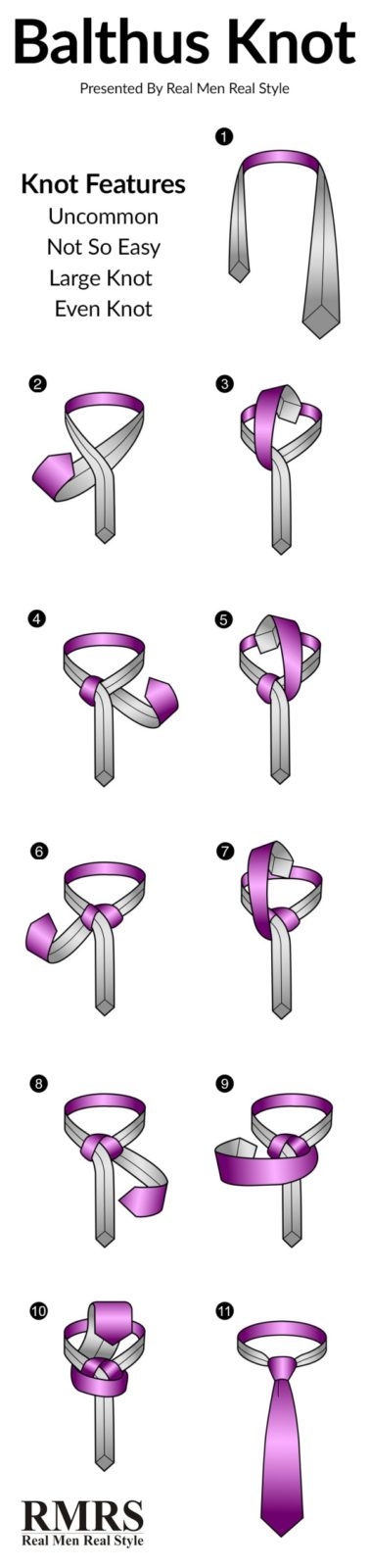 Easy Tie Knot Tutorials for Different Events