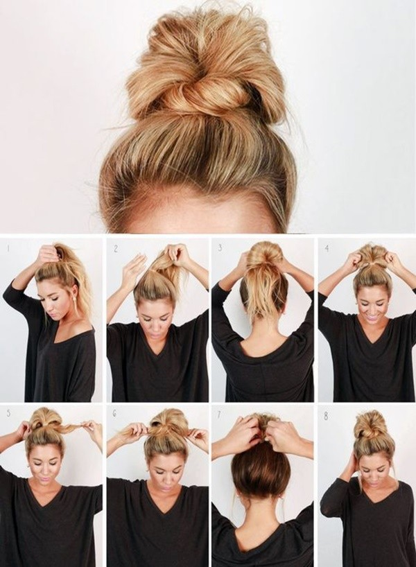 Super Easy Hairstyles That Can Be Done In 2 Minutes