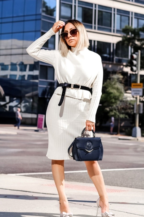 Stylish Ways To Wear Sweaterdress Outfits