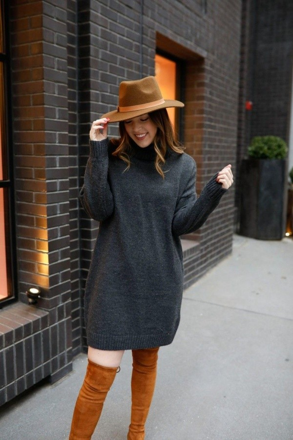 Non-Boring Casual Winter Work Outfit Ideas