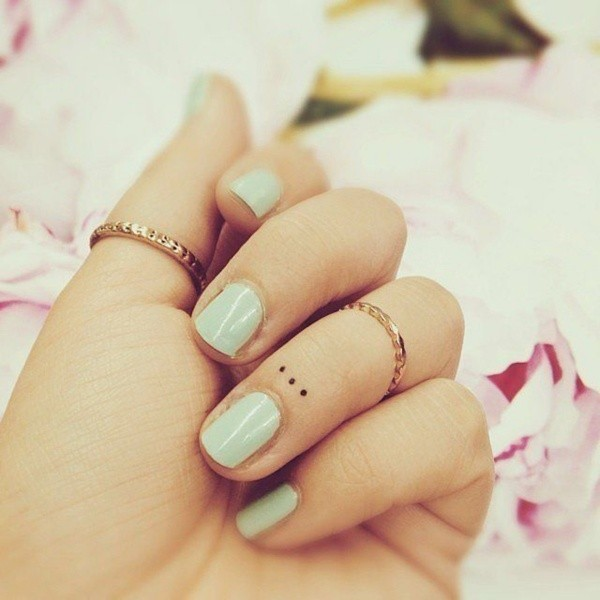 Small and Cute Finger Tattoo Designs and Ideas