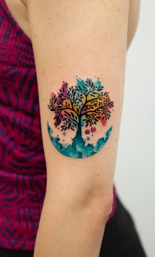 Turn Your Body Into a Canvas With These Watercolors Tattoos